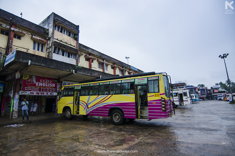 Thottathil Transport at Chalakudy Bus Stand Which will head to Valparai via Malakkappara