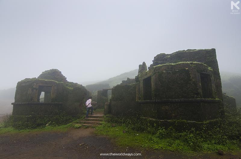 A Ruin Near Dattatreya Baba Budan Swamy's Darga at Chikmagalur
