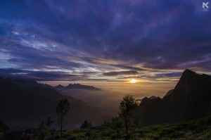 Sunrise at Kolukkumalai, Tamilnadu