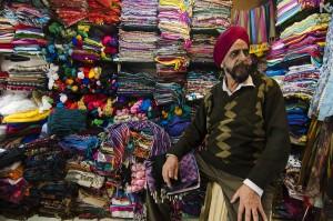 Sardarji at Main Bazar, Paharganj - The Himachal Pradesh Ways