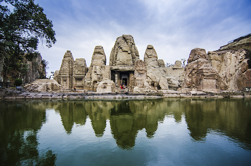 Masroor Rock Cut Temple at Kangra