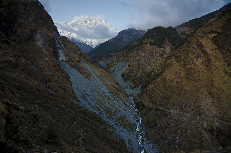 Metahorn Peak, a part of Dhauladhar ranges