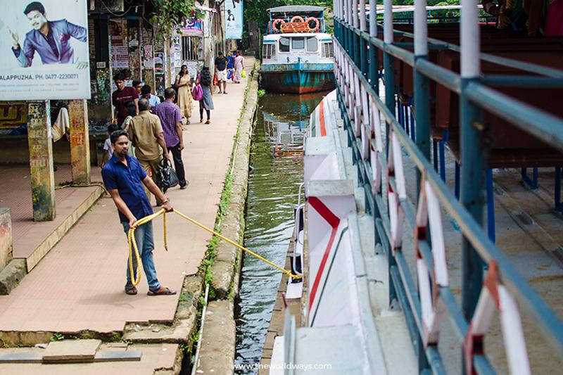 See Kuttanad at Alappuzha Boat Jetty