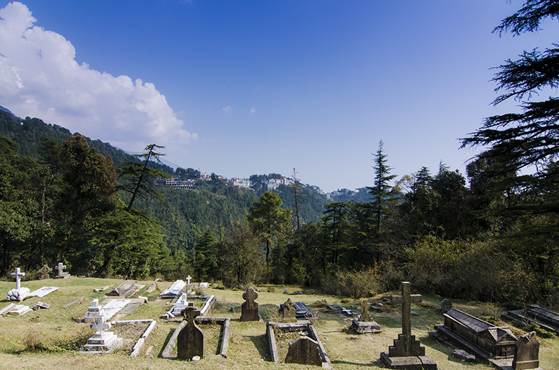 The Cemetery at St. John in the Wilderness