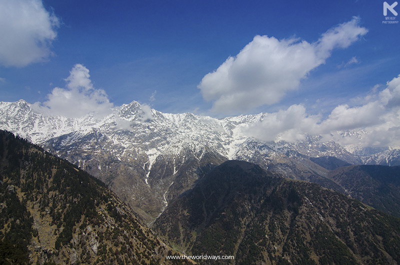 A View of Moon Peak from Triund