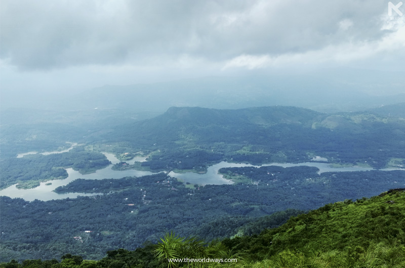 View from Ilaveezhapoonchira View Point, The Land Where No Leaf Falls.
