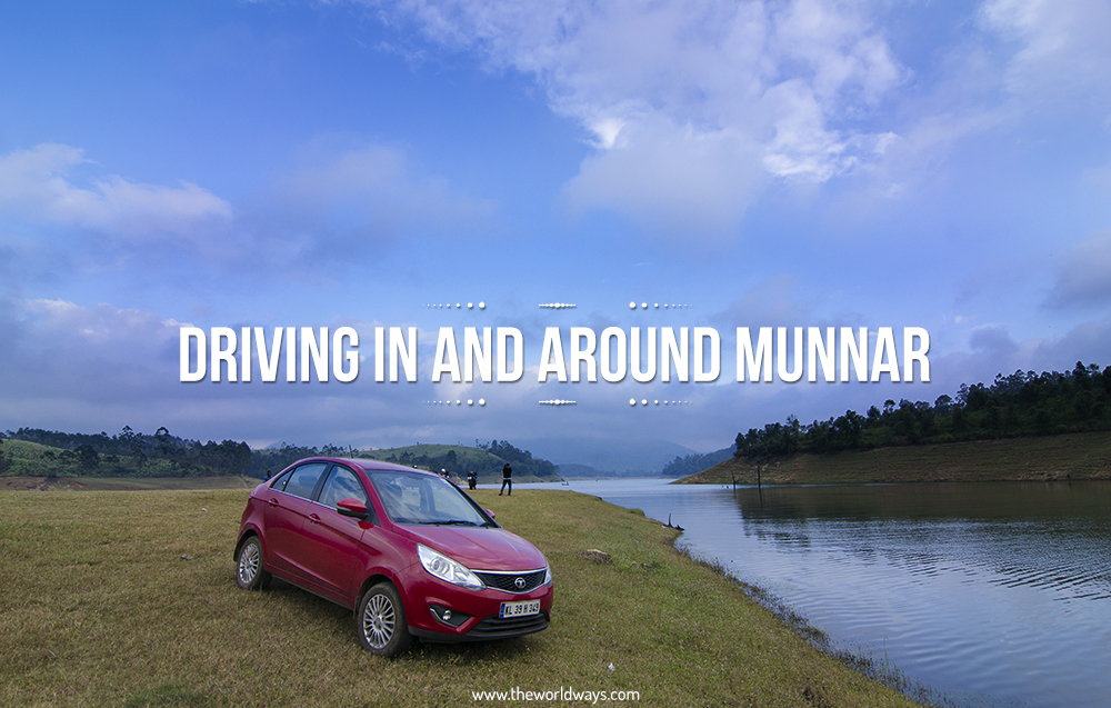 Driving In And Around Munnar