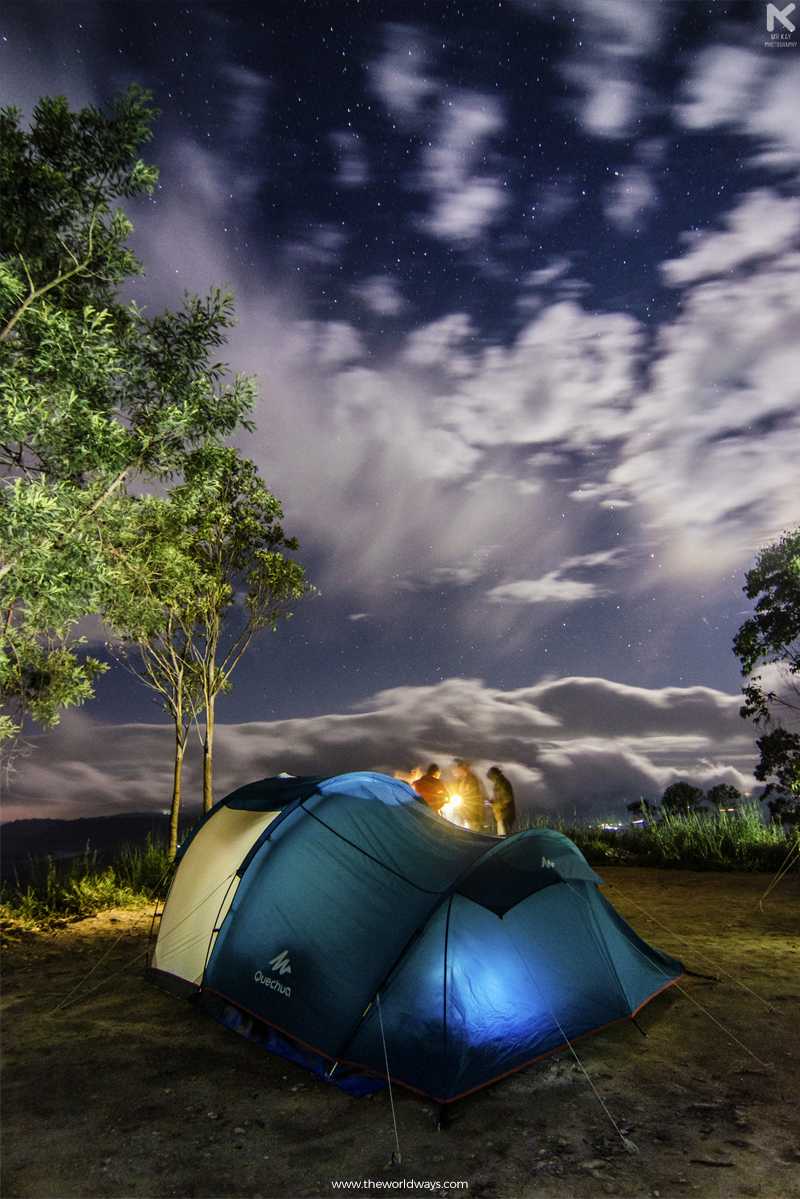 Camping and Night Photography at Suryanelli in Munnar