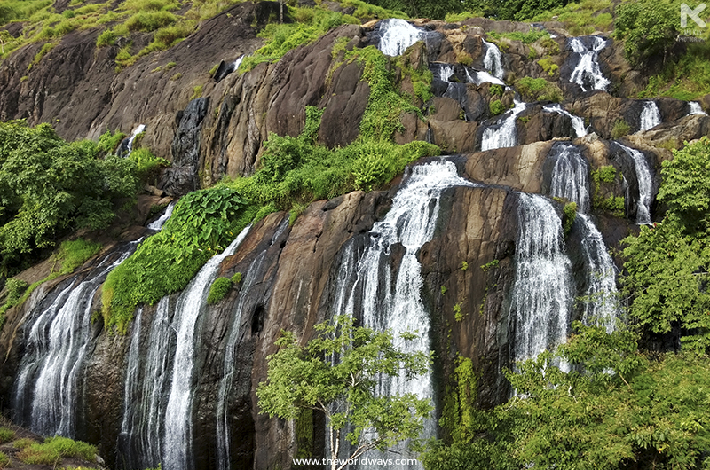 Marottichal Waterfalls situated deep inside the Peechi-Vazhani Wildlife Sanctuary
