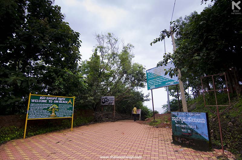 The Entrance to Om Beach