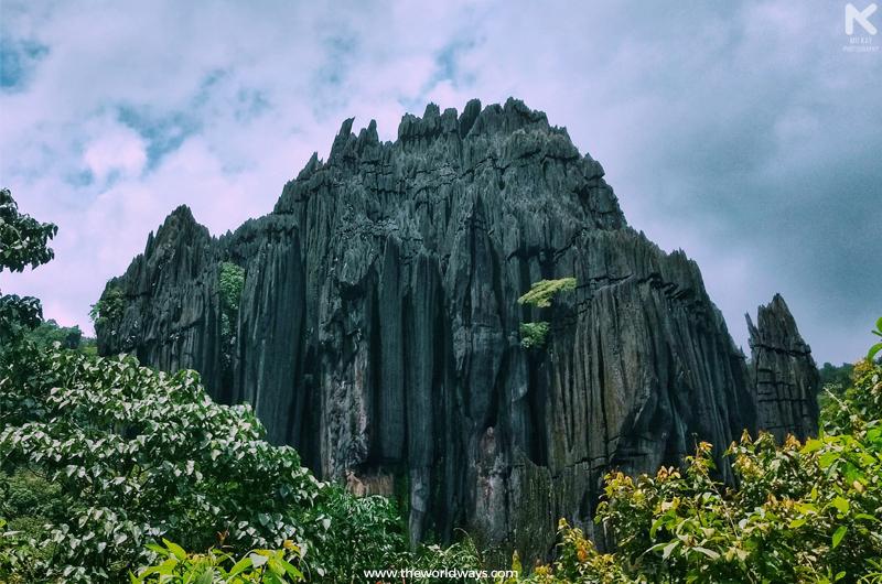 The Magnificent Yana Caves at Gokarna