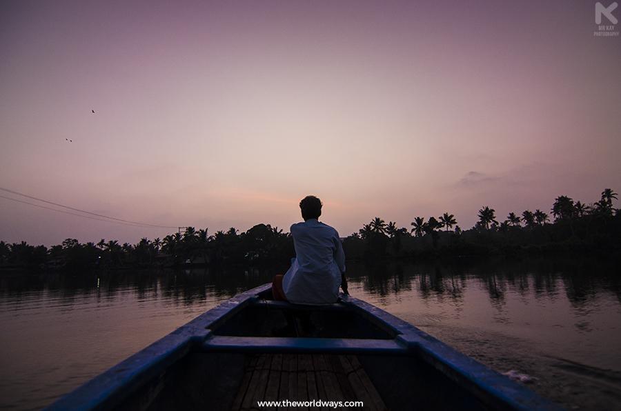 After The Sunset in Kakkathuruthu