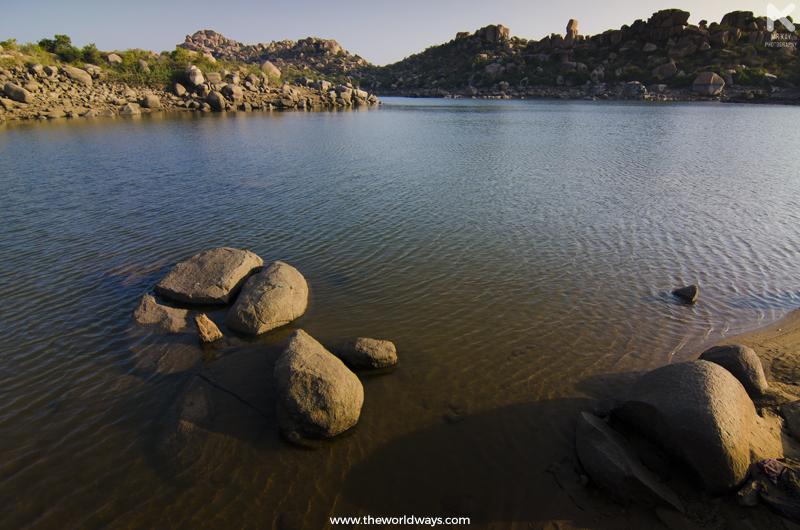 Sanapur Lake at Hampi
