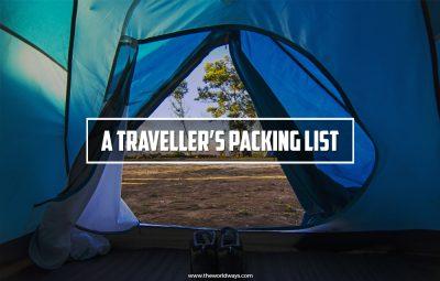 A Traveller's Packing List
