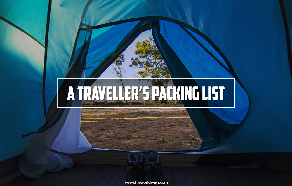 A Traveller's Packing List