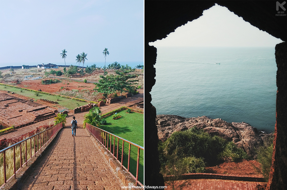 The Observation Tower and View of Arabian Sea from Bekal
