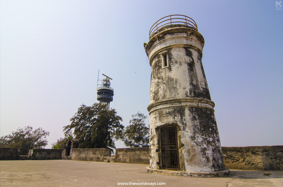 Light House at Moti Daman - Daman Travelogue